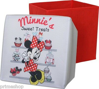 """Minnie Mouse ""Sitting Stool Flat Collapsible Bis 70kg Resilient New"