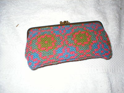 Brand New Vintage Welsh Wool Tapestry Purse