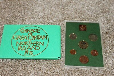 ROYAL MINT 1975 Proof coin Collection
