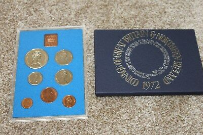 ROYAL MINT 1972 Proof coin Collection