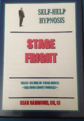 Hypnotherapy for Self Hypnosis Audio CD Stage Fright