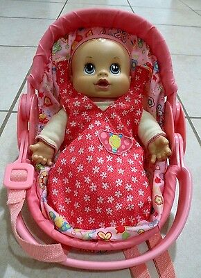 Laugh & Giggles Baby Doll With Carrier