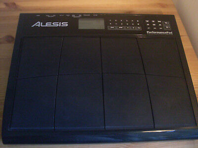 Alesis Performance Pad Drum Machine With Uk Power Supply & Free Uk Shipping #3