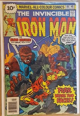 Iron Man #88 And #89 First Series 1976 Marvel Comics