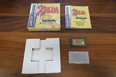 THE LEGEND OF ZELDA  A LINK TO THE PAST  - FOUR SWORD  --- pour GAME BOY ADVANCE