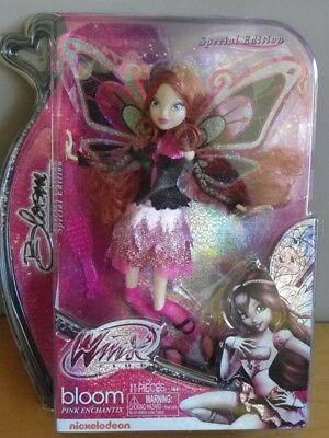 BLOOM PINK ENCHANTIX collection WINX club poupée exclusive aile robe chaussures