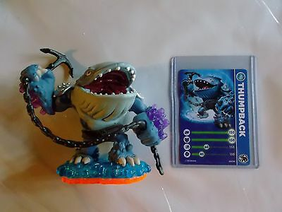 Skylanders Giants * Thumpback * Stat Card  * Used * 10 Day Auction * Sale *