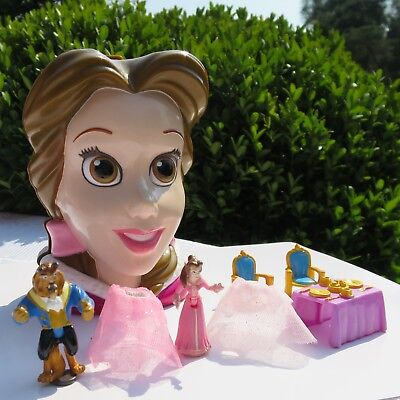 Mini Polly Pocket Disney BELLE - Beauty And The Beast Die Schöne und das Biest