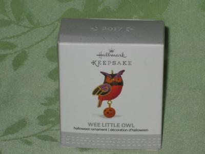 Hallmark ~ 2017 ~ Halloween ~ Wee Little Owl ~ miniature ~ free shipping