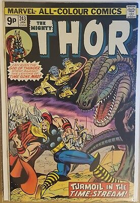 The Mighty Thor #243 - #245 (3 Issue Run)  (1St Series) 1976 - Marvel Comics