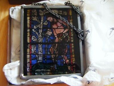 Decorative Stained Glass By Mara Eagle & Drew Landsborough ~ New Boxed ~ Adam ~