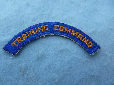 WWII US Army Air Force Patch Training Command  Shoulder Tab WWII