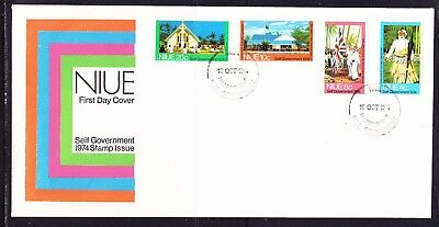 Niue 1974 Self Government First Day Cover Unaddressed