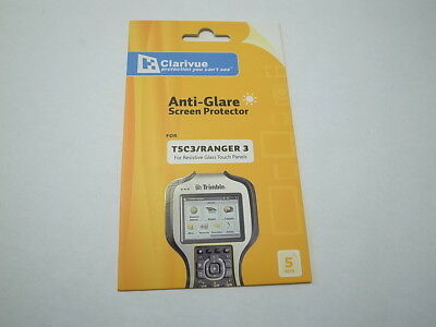 Screen protector for Trimble TSC3 Ranger3 Geo7X (package of 5) Anti-Glare