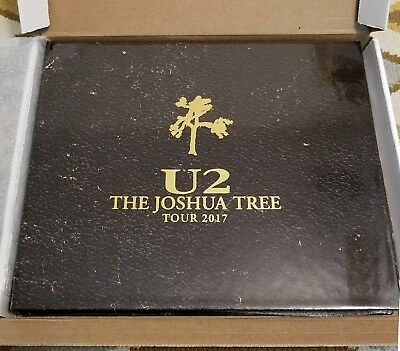 U2 The Joshua Tree Tour 2017 Limited Edition Silver VIP Package #4045