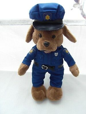 CORRECTIONAL SERVICE CANADA CORRECTIONNEL puppy YOURRIE PLUSH MASCOT doll POLICE