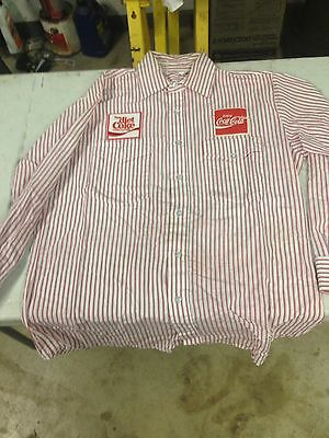 Vintage Coca-Cola Delivery Uniform Long Sleeve