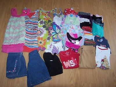 Girls Used Fall & Winter Clothes Size 6/6x Lot of 35 Items