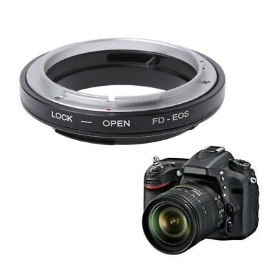 FD-EOS Mount Adapter Ring For Canon FD Lens to EF Mount EOS Camera Camcorder New