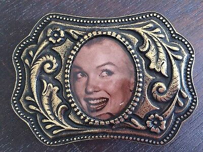 Vintage Marilyn Monroe Belt Buckle