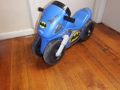 Fisher Price Batman Motorcycle Ride-On - WITH SOUNDS  GOOD CONDITION