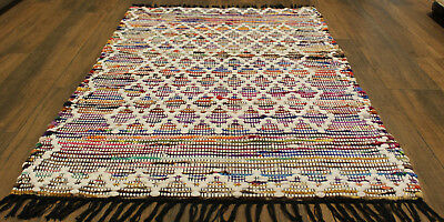 * REDUCED * Boho Cotton    Rug   * 1.5  m  x  0. 9  m *  BRAND NEW Great Quality