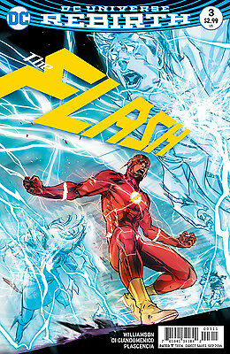 FLASH #3, New, First Print, DC REBIRTH (2016)