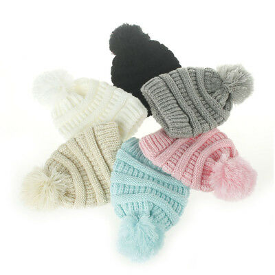 Infant Kids Girl Boy Hat Cap Cute Newborn Winter Warm Baby Crochet Knit Beanie