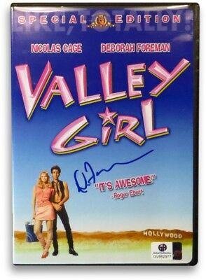 Deborah Foreman Signed Autographed DVD Cover Valley Girl GV862977