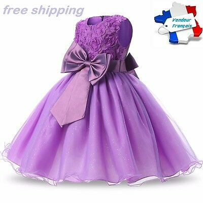 Dress Girls Ceremony Princess Sequin Glitter Wedding Party ++Free Shipping!!!!