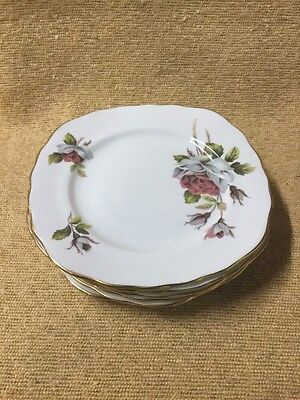 Queen Anne Six Side Plates
