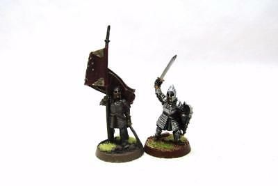 Lord Of The Rings Hobbit Gondor Minas Tirith Command Metal (w5064)