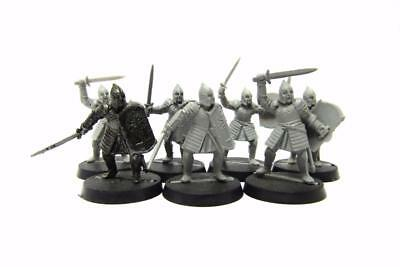 Lord Of The Rings Hobbit Gondor Warriors Of Minas Tirith Regiment (w5093)