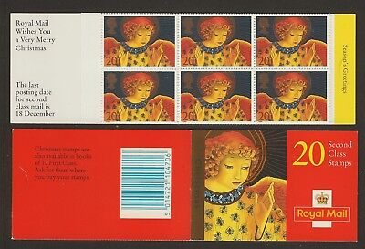 GB Stamps: 1998 Christmas  Booklet LX16.
