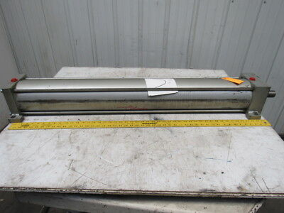 """Milwaukee A-42 Pneumatic Air Tie Rod Cylinder 6"""" Bore 42-1/4"""" Stroke"""