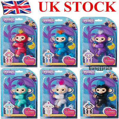 100% Original WowWee Fingerlings Electronic Interactive Finger Toys Baby Monkey