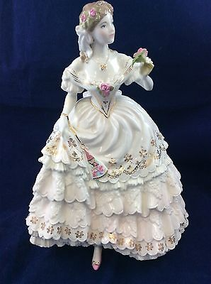 Royal Worcester The Fairest Rose 1st Quality Limited Edition Figurine RW4547