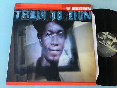 LP   UK 1997 LTD NM M  U Brown ‎– Train To Zion (1975-1978) Label: Blood & Fire