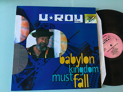 LP   UK 1996 MINT  U-Roy ‎– Babylon Kingdom Must Fall Label: Ariwa ‎– ARILP129 F