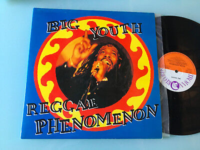 2 LP   UK 1990  MINT  Big Youth ‎– Reggae Phenomenon Label: Trojan Records ‎– TR
