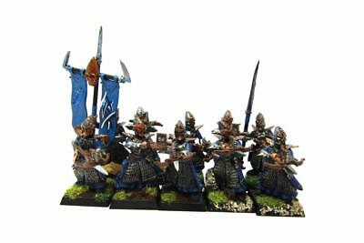 Warhammer Fantasy Age Of Sigmar Aelfs Dark Elves Darkshards Regiment (w5426)