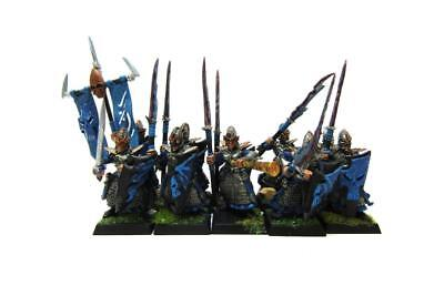 Warhammer Fantasy Age Of Sigmar Aelfs Dark Elves Dreadspears Regiment (w5412)