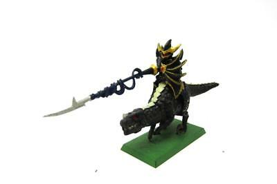 Warhammer Fantasy Age Of Sigmar Dark Elves Drakespawn Knight Part Metal (w5439)