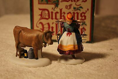 Department 56 Twelve Days of Christmas Eight Maids A-Milking