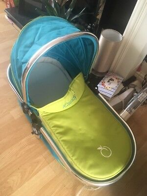 Icandy Peach Carrycot In Sweet pea