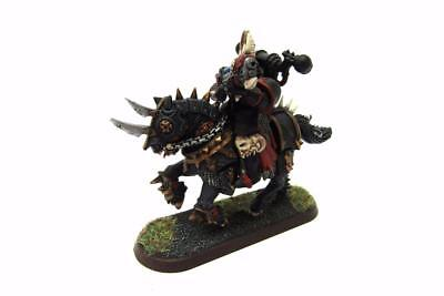 Warhammer 40k Chaos Space Marines Converted Count As Chaos Biker (w5571)
