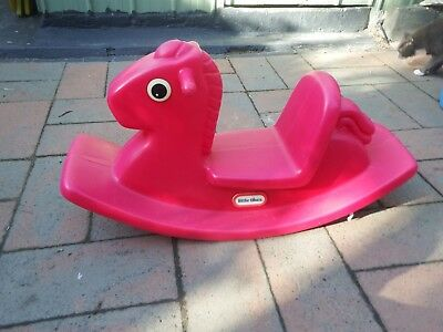 Little Tikes Rocking Horse - Pink Good Condition