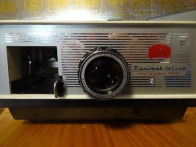 Vintage Paximat De Luxe Halogen 150 Slide Projector-In Working Order