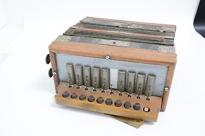 Vintage Ludwig's 10 Button Single Row Melodeon (THS12)