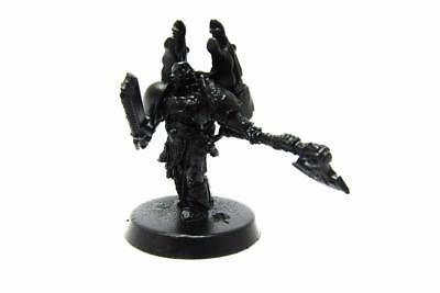 Warhammer 40k Chaos Space Marines Converted Chaos Lord Part Metal (w1116)